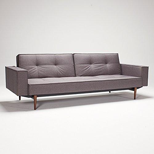 Innovation Sofa Bezug möbel24 möbel günstig splitback sofa klappsofa mit armlehnen innovation bezug 216 textil