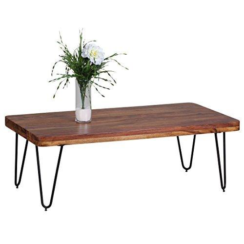 wohnling couchtisch massiv holz sheesham 115 cm breit. Black Bedroom Furniture Sets. Home Design Ideas