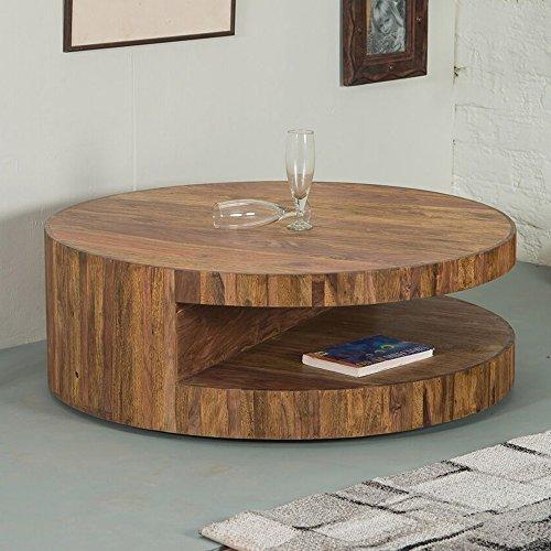 lounge zone stylischer couchtisch wohnzimmertisch wohnzimmer beistelltisch tisch skivor sheesham. Black Bedroom Furniture Sets. Home Design Ideas