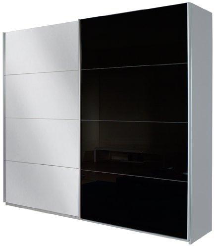 rauch schwebet renschrank mit spiegel 2 t rig. Black Bedroom Furniture Sets. Home Design Ideas