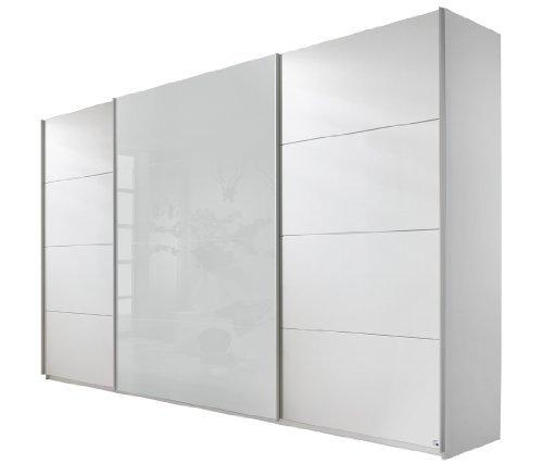 rauch schwebet renschrank 3 t rig wei alpin absetzung wei glas bxhxt 315x210x62 cm m bel24. Black Bedroom Furniture Sets. Home Design Ideas