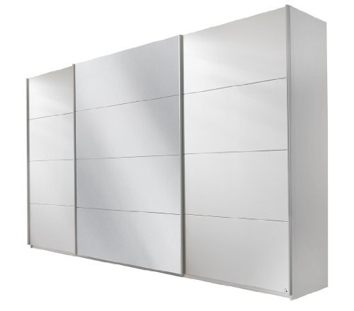 rauch schwebet renschrank mit spiegel 3 t rig wei alpin bxhxt 315x210x62 cm m bel24. Black Bedroom Furniture Sets. Home Design Ideas