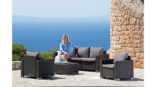 best loungeset mombasa 14 tgl 3er sofa 2 sessel tisch 68x68 cm kunststoff m bel24. Black Bedroom Furniture Sets. Home Design Ideas