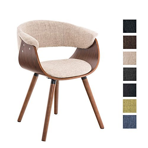 clp esszimmerstuhl pirma mit stoffbezug konferenzstuhl mit robustem holzgestell in. Black Bedroom Furniture Sets. Home Design Ideas