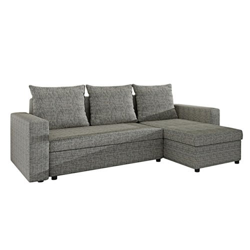 mirjan24 ecksofa top lux sofa eckcouch couch mit schlaffunktion und zwei bettkasten ottomane. Black Bedroom Furniture Sets. Home Design Ideas