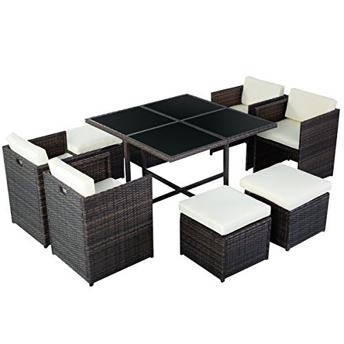 m bel24 m bel g nstig poly rattan rattanset rattanmbel gartenmbel lounge set sitzgruppe. Black Bedroom Furniture Sets. Home Design Ideas