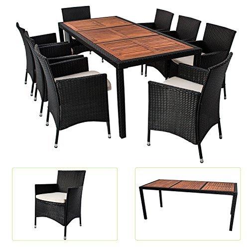 polyrattan essgruppe rimini xl f r 8 personen mit akazienholz tischplatten m bel24. Black Bedroom Furniture Sets. Home Design Ideas