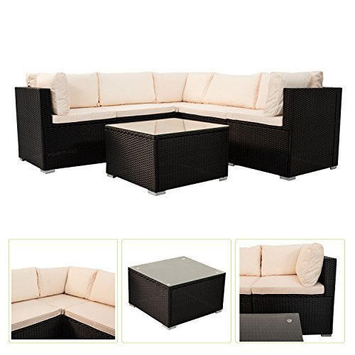 m bel24 m bel g nstig polyrattan gartenm bel lounge nassau. Black Bedroom Furniture Sets. Home Design Ideas