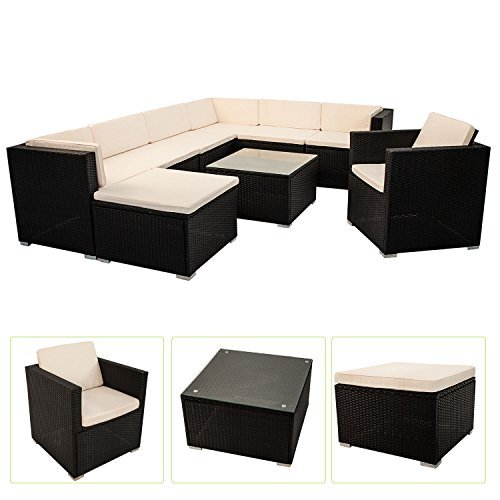 m bel24 m bel g nstig polyrattan gartenmbel lounge. Black Bedroom Furniture Sets. Home Design Ideas