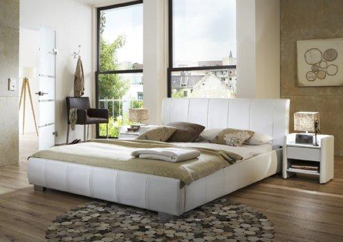SAM-Polsterbett-Innocent-Lumo-160-x-200-cm-wei-im-modernen-abgesteppten-Design-Wasserbett-geeignet-teilzerlegt-Auslieferung-mit-Spedition-0