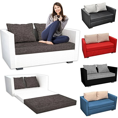 vcm 2er schlafsofa sofabett couch sofa mit schlaffunktion. Black Bedroom Furniture Sets. Home Design Ideas