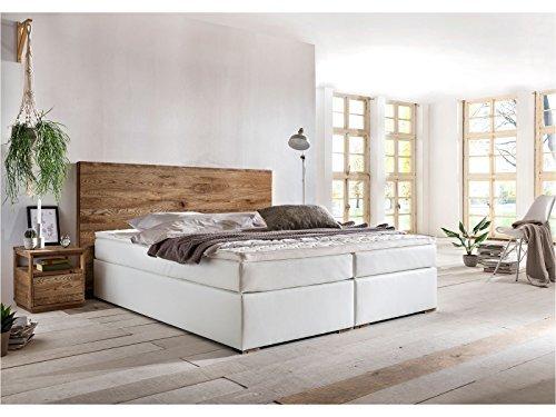 woodkings boxspringbett hastings 180x200 cm kunstleder. Black Bedroom Furniture Sets. Home Design Ideas