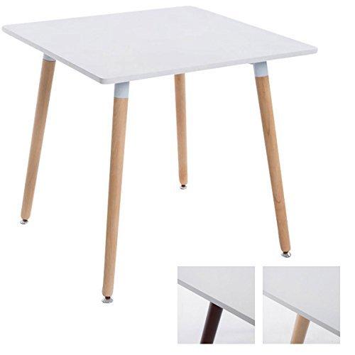 M bel24 m bel g nstig clp ess tisch bente quadratisch for Design tisch quadratisch