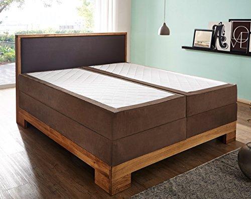 sam design boxspringbett sirin box mit holzrahmen und bonellfederkern durchgehende 7 zonen. Black Bedroom Furniture Sets. Home Design Ideas
