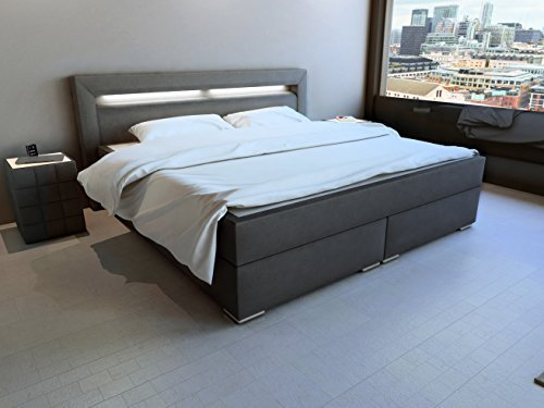 m bel24 m bel g nstig sam design boxspringbett mit neo. Black Bedroom Furniture Sets. Home Design Ideas