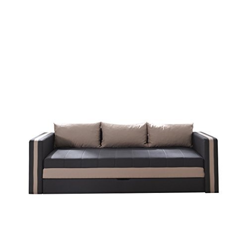 schlafsofa euforia duo sofa couch mit bettkasten und schlaffunktion modernes bettsofa. Black Bedroom Furniture Sets. Home Design Ideas