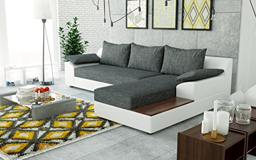 sofa couchgarnitur couch sofagarnitur nemo als l form polstergarnitur polsterecke wohnlandschaft. Black Bedroom Furniture Sets. Home Design Ideas