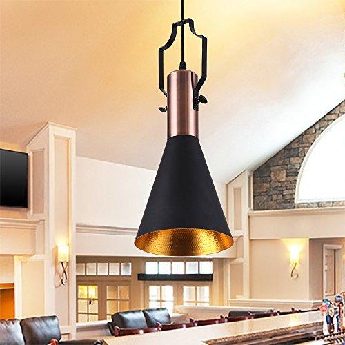 mstar retro industrielle pendelleuchte aus metall schwarz. Black Bedroom Furniture Sets. Home Design Ideas