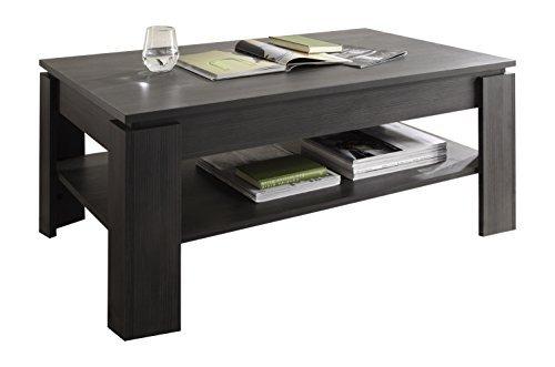 trendteam ct couchtisch wohnzimmertisch tisch esche grau. Black Bedroom Furniture Sets. Home Design Ideas