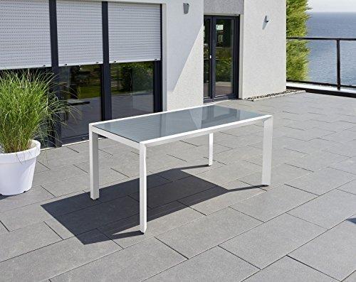 greemotion outdoor esstisch wei stockholm in zwei gr en. Black Bedroom Furniture Sets. Home Design Ideas
