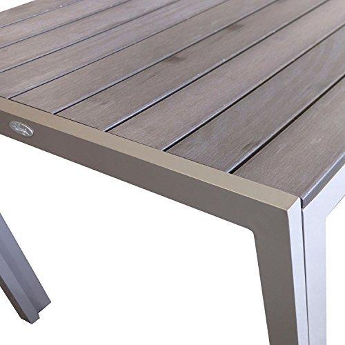 aluminium gartentisch esszimmertisch esstisch k chentisch. Black Bedroom Furniture Sets. Home Design Ideas