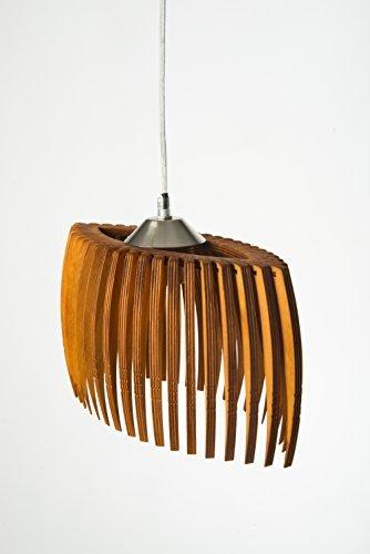 mk design holz pendellampe pendelleuchte h ngelampe areva rotbraun m bel24. Black Bedroom Furniture Sets. Home Design Ideas