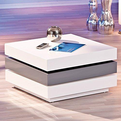 links 20800925 couchtisch wei hochglanz wohnzimmertisch. Black Bedroom Furniture Sets. Home Design Ideas