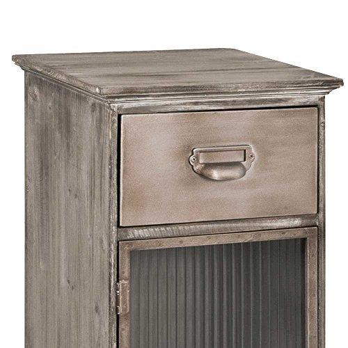 nachtkommode f r boxspringbett glast r pharao24 m bel24. Black Bedroom Furniture Sets. Home Design Ideas