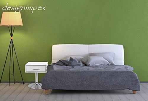 Design Nachttisch Boxspringbett Nachtkommode CO-1 weiß matt NEU