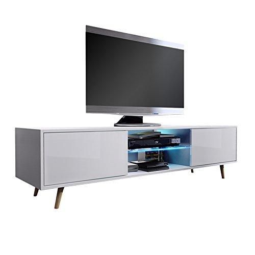 tv schrank lowboard sideboard tisch m bel board rivano mit. Black Bedroom Furniture Sets. Home Design Ideas