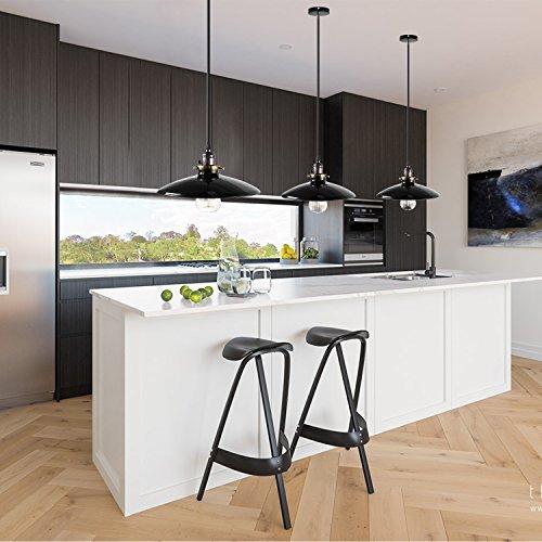 industrieller vintage lampenschirm dexors retro pendelleuchte deckenleuchte mit e27 fassung 85. Black Bedroom Furniture Sets. Home Design Ideas