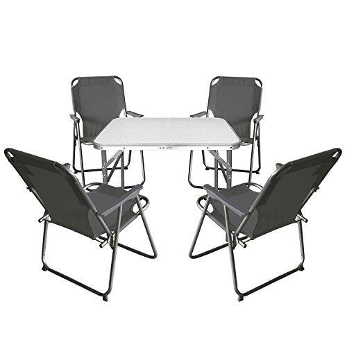 5tlg-Campingmbel-Set-Klapptisch-Aluminium-55x75cm-4x-Campingstuhl-stone-Strandmbel-Campinggarnitur-Gartenmbel-0