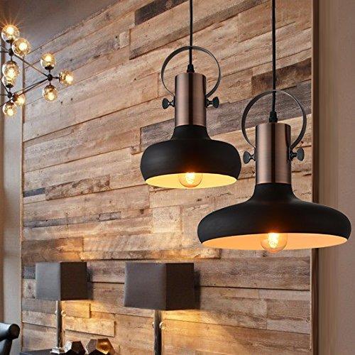mstar retro industrielle pendelleuchte aus metall schwarz lackiert vintage deckenleuchte f r. Black Bedroom Furniture Sets. Home Design Ideas