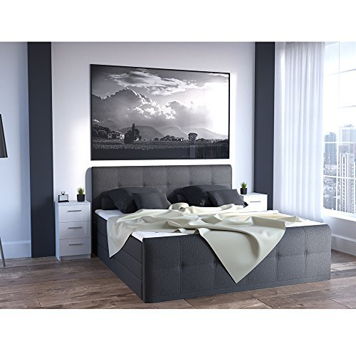 nachtkommode f r boxspringbett 2 er set 66cm hoch wei hochglanz nachtschrank nachttisch kommode. Black Bedroom Furniture Sets. Home Design Ideas
