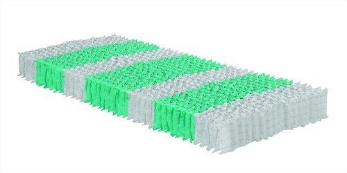 7-Zonen-Taschenfederkernmatratze OrthoMatra Traumland TFK, Preis-Leistungs-Sieger, Klimabezug - Grösse 90x220