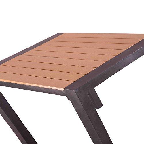Polywood Holz Esstisch Mit Alu