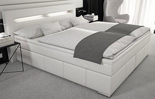 boxspringbett 180 200 cm inkl matratze und topper bett doppelbett hotelbett komplettbett. Black Bedroom Furniture Sets. Home Design Ideas