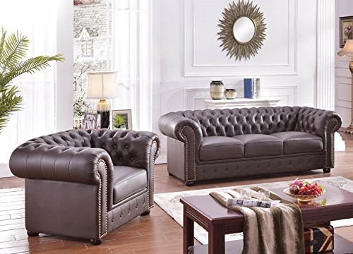 chesterfield ledersofa ledercouch chesterfield 31 377 0 m bel24 m bel g nstig. Black Bedroom Furniture Sets. Home Design Ideas