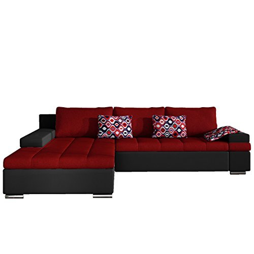 m bel24 m bel g nstig design ecksofa bangkok moderne eckcouch mit schlaffunktion und. Black Bedroom Furniture Sets. Home Design Ideas