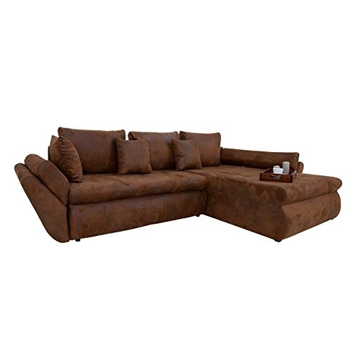 m bel24 m bel g nstig design ecksofa rodeo coffee used. Black Bedroom Furniture Sets. Home Design Ideas