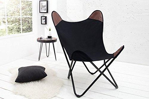 Dunord design sessel stuhl texas schwarz leinen for Dunord design stuhl verona