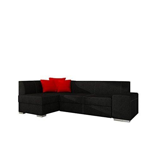Ecke sofa eckcouch couch pepco style ecksofa mit for Couch mit bettfunktion und bettkasten