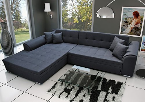 ecksofa sorrento eckcouch sofa couch mit bettfunktion. Black Bedroom Furniture Sets. Home Design Ideas