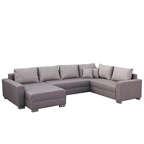 mirjan24 ecksofa tomasi elegante xxl eckcouch mit. Black Bedroom Furniture Sets. Home Design Ideas