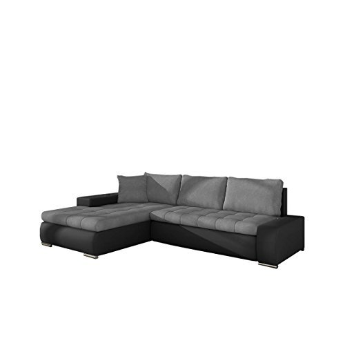 m bel24 m bel g nstig elegante sofa orkan mini mit schlaffunktion und bettfunktion eckcouch. Black Bedroom Furniture Sets. Home Design Ideas
