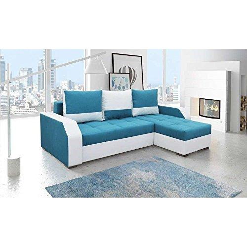 justhome aris ecksofa polsterecke schlafsofa stoffbezug. Black Bedroom Furniture Sets. Home Design Ideas