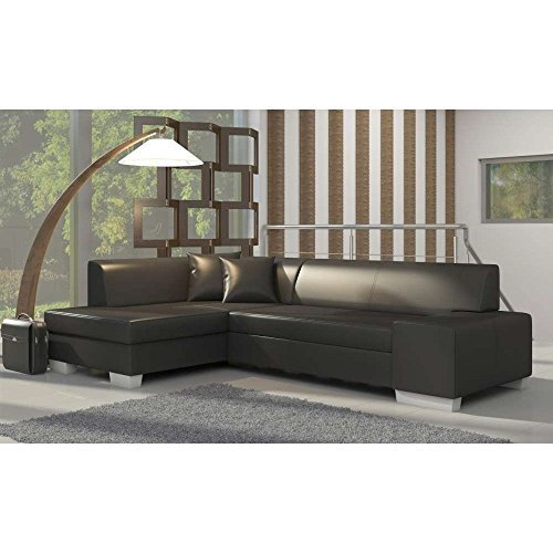 justyou fabio ecksofa polsterecke schlafsofa kunstleder hxbxt 73x268x167 cm gro e farbauswahl. Black Bedroom Furniture Sets. Home Design Ideas