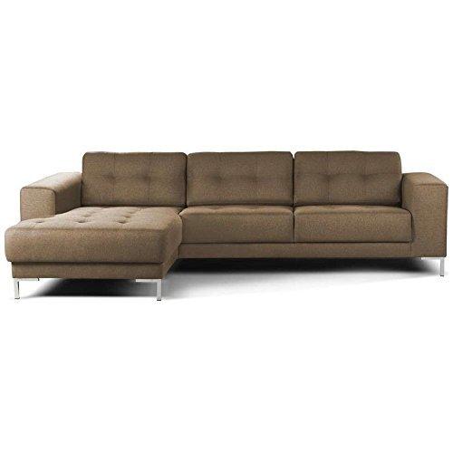 justyou moon ecksofa polsterecke eckcouch strukturstoff lxhxb 275x79x180 cm gro e farbauswahl. Black Bedroom Furniture Sets. Home Design Ideas