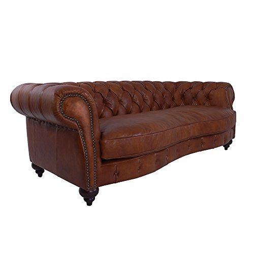 m bel24 m bel g nstig ledersofa castlefield sofa 3 sitzer whisky brown chesterfield stil. Black Bedroom Furniture Sets. Home Design Ideas