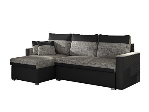 polsterecke fler mit zwei bettkasten und schlaffunktion. Black Bedroom Furniture Sets. Home Design Ideas